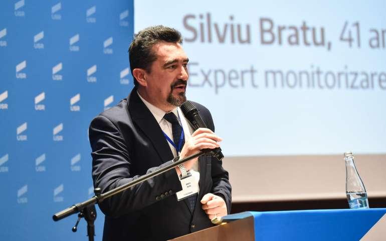 Silviu Bratu Candidatul USR pentru funcția de Președinte al Consiliului Județean Dolj